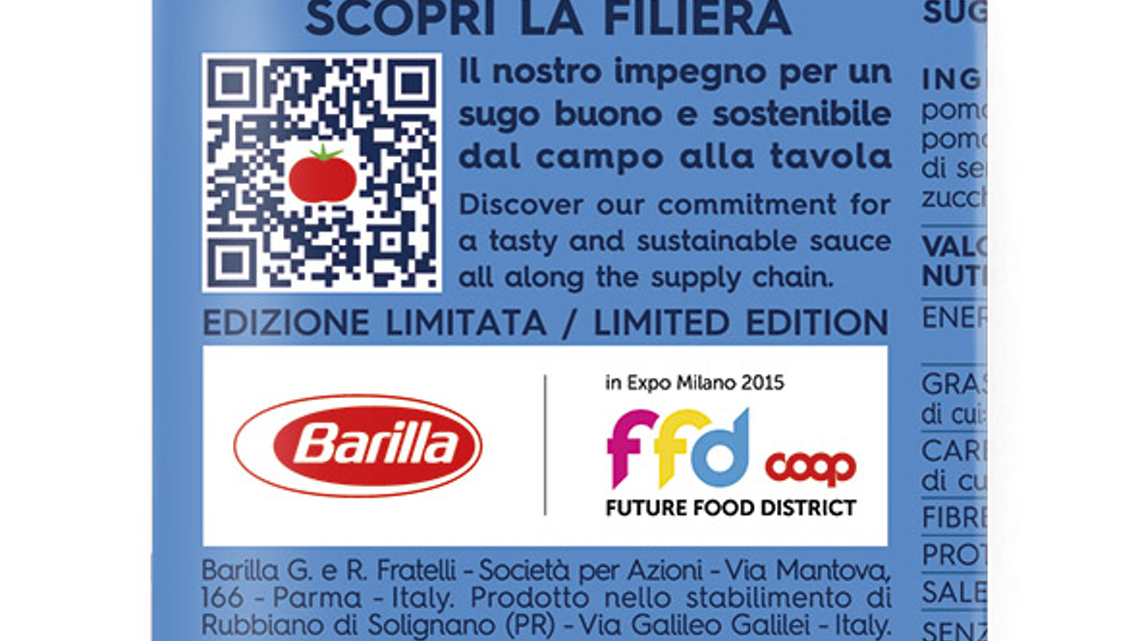 Barilla Embraces the Connected Food Movement | Automation World