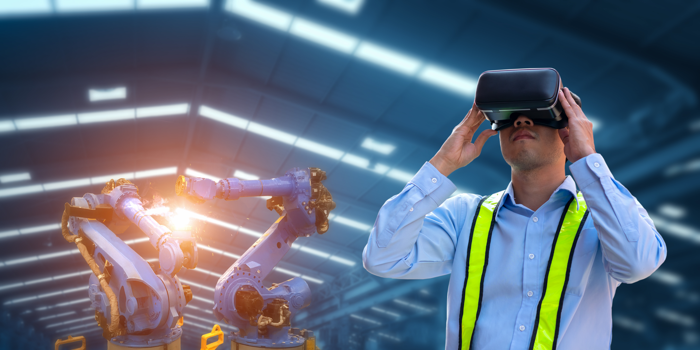 Augmented reality is on the rise in predictive maintenance and training usage.