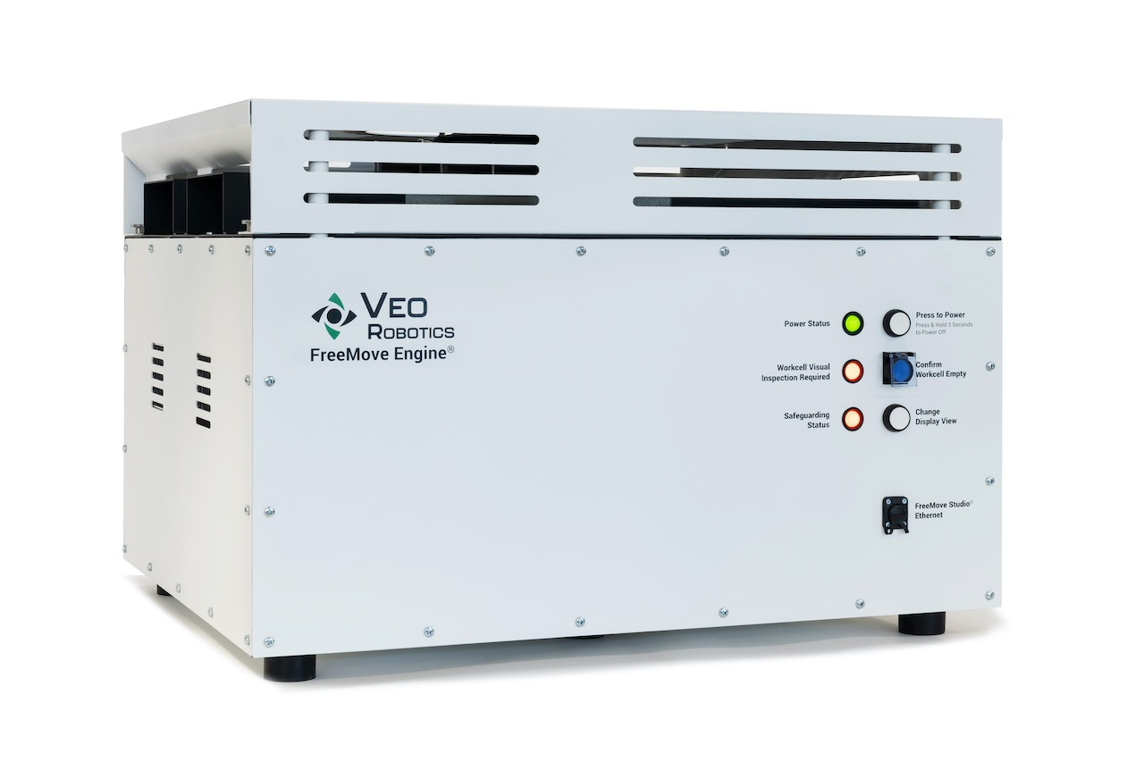 FreeMove Engine, the high-performance industrial computing box of the FreeMove system.