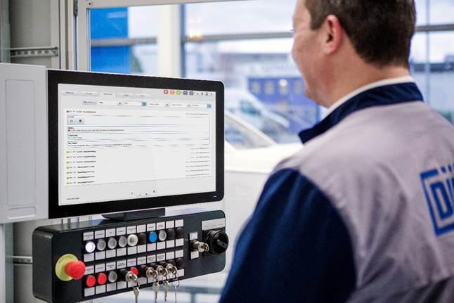 Dürr claims its Advanced Analytics is the first market-ready AI application specifically designed for automotive paint shops. Source: Dürr